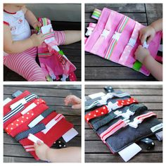 Buckle Toy for Toddlers ~ Caleb would LOVE something like this!