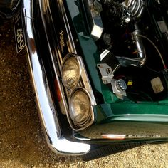 A thing of beauty. Datsun 1600, Rotary, Engine, Bike, Cars, Green, Beauty, Bicycle, Motor Engine