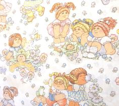 Official Vintage Cabbage Patch Kids sheet for sale