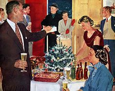 1950's Holiday Party