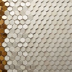 Textural Metal and Ceramic Tiles from Giles Miller Studio