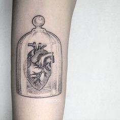 Bell jar tattoo