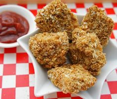 Baked Chicken Nuggets Recipe   from The Kitchen Counter Cooking School cookbook  House & Home
