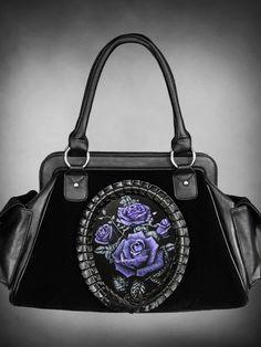 Restyle // Deadly Roses Hologram Handbag
