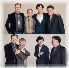 These guys.......<< omg I have seen only the cropped version of Martin and Mark before but Benedict..<3