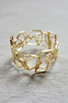 Composition Ring, Geometric ring, signature ring, Architectural jewelry
