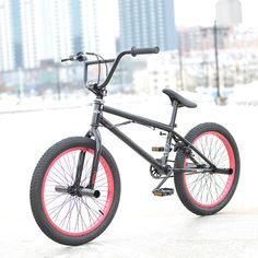 Check Discount 20 Inch Bmx Bike Steel Frame Performance Bike Purplered Tire Bike For Show Stunt Acrobatic #Pedal #Steel