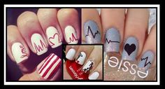 31 Beautiful nail designs for Day! Looking for ideas for Valentine's Day, but can not find impressive nail designs? See in ediva.gr the best ideas for your manicure! Manicure, Nails, Beautiful Nail Designs, Valentines Day, Nail Art, Beauty, Ideas, Nail Bar, Finger Nails
