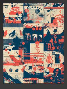 Exploration fragments — Poster - Joy Stain