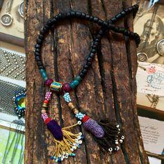 Heather Haase Reclaimed Short Tassel Necklace