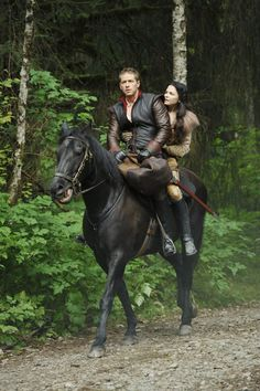 Two of my favourite things Once Upon a Time and horseback ridding