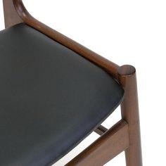 Teakhouten vintage Deense eettafel stoel jaren zestig - Pool Houses, Retro, Chair, Interior, Furniture, Home Decor, Decoration Home, Houses With Pools, Indoor