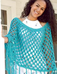Crochet Poncho Free Pattern All The Best Ideas | The WHOot