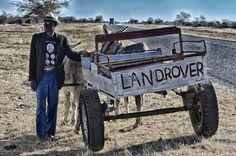 South Africans have a great sense of humour ! South Afrika, Namibia, Out Of Africa, Mode Of Transport, African Culture, My Land, Land Rover Defender, Defender 90, Countries Of The World