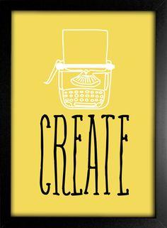 Kit Create Explore Smile Travel Relax Listen - Encadreé Posters