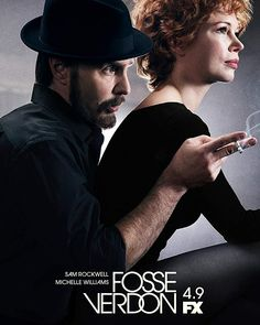 Bob Fosse Gwen Verdon on FX, starring Sam Rockwell and Michelle Williams Bob Fosse, Michelle Williams, Natalie Martinez, Joseph Fiennes, Margaret Qualley, Elisabeth Moss, Karl Urban, Lin Manuel, Norbert Leo Butz