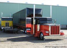 Another view of the Custom Peterbilt 379 belonging to JDT(James Davis Trucking) by Michael Cereghino (Avsfan118), via Flickr