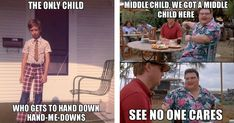21 Sibling Memes Every Middle Child Will Relate To - Christmascocktails Siblings Funny, Sibling Memes, Funny Kids, Fun Funny, Stupid Funny, Funny Stuff, Middle Child Meme, Middle Child Quotes, Kid Memes