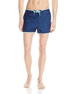 Original Penguin Mens Mini Conversational Print Fixed Box Trunk Dress Blues 32 * You can get more details by clicking on the image.