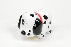 Doggy Bank Preto e Branco   A Loja do Gato Preto   #alojadogatopreto   #shoponline   referência 72933461