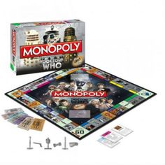 DOCTOR WHO :: Doctor Who Monopoly - Shut Up And Take My Money Store!