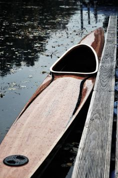 Handcrafted High Performance Kayak - Handgefertiges Holz Kajak