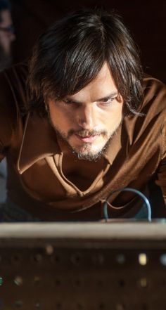 Ashton Kutcher as Steve Jobs.  He was fantastic as Steve.  He should play more roles like that.