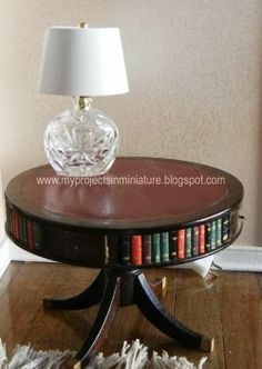 how to: mini lamp from scent sample bottle