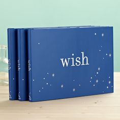 Ready to be uplifted & inspired by a WISH?  The Wish book is a beautiful reminder to welcome the extraordinary every day.