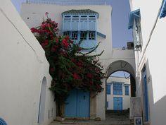 tunesien, sidi bou said