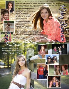 I like how this senior ad has a picture for its background! Senior Yearbook Ideas, Senior Ads, Yearbook Staff, Yearbook Pages, Yearbook Covers, Yearbook Layouts, Yearbook Design, Senior Quotes, Senior Pictures