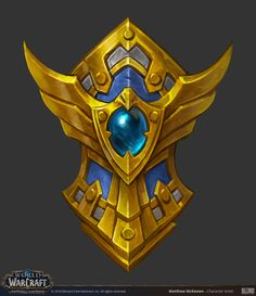 ArtStation - World of Warcraft - Battle For Azeroth Weapon Concepts, Matthew McKeown Medieval Shields, Rpg World, Game Textures, Hand Painted Textures, Harry Potter Drawings, Game Props, Tech Art, Digital Painting Tutorials, Game Concept Art