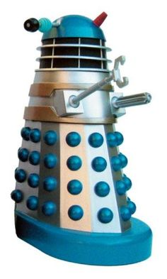 """Amazon.com: Doctor Who & the Daleks - SILVER 8"""" Talking Dalek with Infrared Remote Control: Toys & Games"""