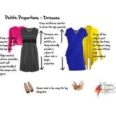 Petite proportions - dresses