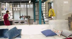 Heo Joon Jae little figure Legend Of The Blue Sea Wallpaper, Legend Of Blue Sea, Exterior Design, Interior And Exterior, Architect Design, Min Ho, Lee Min, House Floor Plans, Kdrama