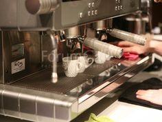 Extracción de espressos