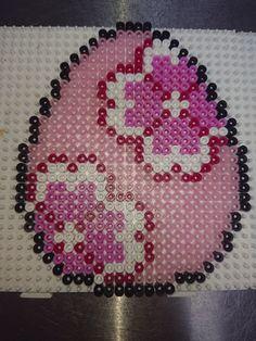Diy Perler Beads, Perler Bead Art, Pearler Beads, Fuse Beads, Fuse Bead Patterns, Perler Patterns, Beading Patterns, Melting Beads, Canvas Patterns