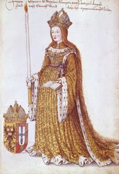 Eleanor of Portugal, Holy Roman Empress. The eldest surviving daughter of King Edward of Portugal and Eleanor of Aragon, she was born on this day, September 18th, in 1434.