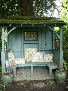 Amazing Shed Plans - abri jardin lecture Plus - Now You Can Build ANY Shed In A Weekend Even If You've Zero Woodworking Experience! Start building amazing sheds the easier way with a collection of shed plans! Outdoor Rooms, Outdoor Gardens, Outdoor Living, Outdoor Garden Sheds, Rustic Gardens, Gazebos, Backyard Seating, Backyard Storage, Outdoor Seating