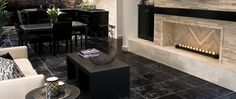 #Modern #Travertine Living Room