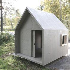 Modern Tiny Homes Modern Tiny House, Tiny House Cabin, Cabin Homes, Prefab Homes, Modular Homes, Tiny Homes, Cubby Houses, Play Houses, Cabin Design