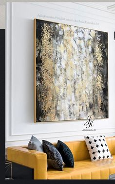 Original Abstract Painting Gold Leaf Painting Large Wall Art Textured Painting Large Canvas Art Contemporary Art By Julia Kotenko Abstract Painting Large Wall Art Textured Art Large Canvas Etsy Large Canvas Art, Large Wall Art, Canvas Wall Art, Canvas Collage, Diy Canvas, Texture Art, Texture Painting, Art Feuille D'or, Inspirational Canvas Art