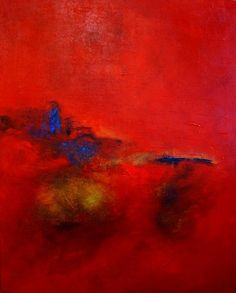 Markus Schon Art Abstract art Modern Age Abstract Art 'skies on fire'