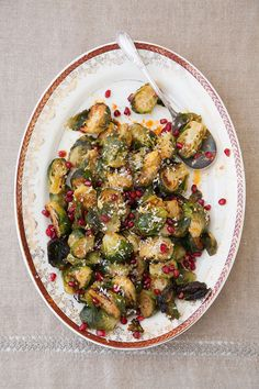 Brussels sprouts are zipped up with horseradish by chef Ken Oringer of Toro in Boston and New York.