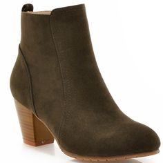 38.16$  Watch now - https://alitems.com/g/1e8d114494b01f4c715516525dc3e8/?i=5&ulp=https%3A%2F%2Fwww.aliexpress.com%2Fitem%2FWinter-Adhesive-woman-wedding-shoes-sapatos-femininos-Square-heel-6-5-cm-ankle-boots-Nubuck-flock%2F32716252846.html - Winter Adhesive woman wedding shoes sapatos femininos Square heel 6.5 cm ankle boots Nubuck flock leather Ladies shoes woman