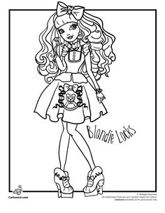 Ever After High - Blondie Locks | Cartoon Jr.