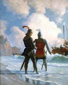Newell Convers Wyeth N C - Kelly Collection American Illustration Art
