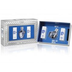 Diesel Only The Brave 50ml Gift Set with Aftershave Balm and Shower Gel available at www.fragrance-house.co.uk