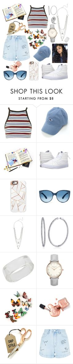 """Make your own style💙"" by raven-so-cute ❤ liked on Polyvore featuring Motel, Vineyard Vines, Vans, Casetify, BERRICLE, INC International Concepts, New Look and Sydney Evan"