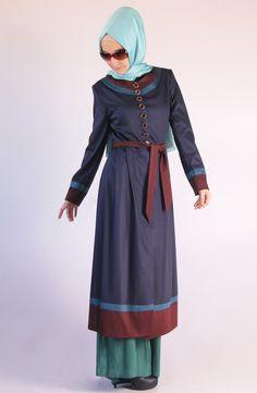 Lady Kap / lacivert, karaca butik, tesettür, abiye, hijab, kap, yazlık kap, 2013 kap modelleri